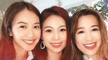 楊秀惠慶生與好姊妹不可分割