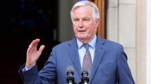 Barnier refutes Johnson's claims over Irish Sea trade checks