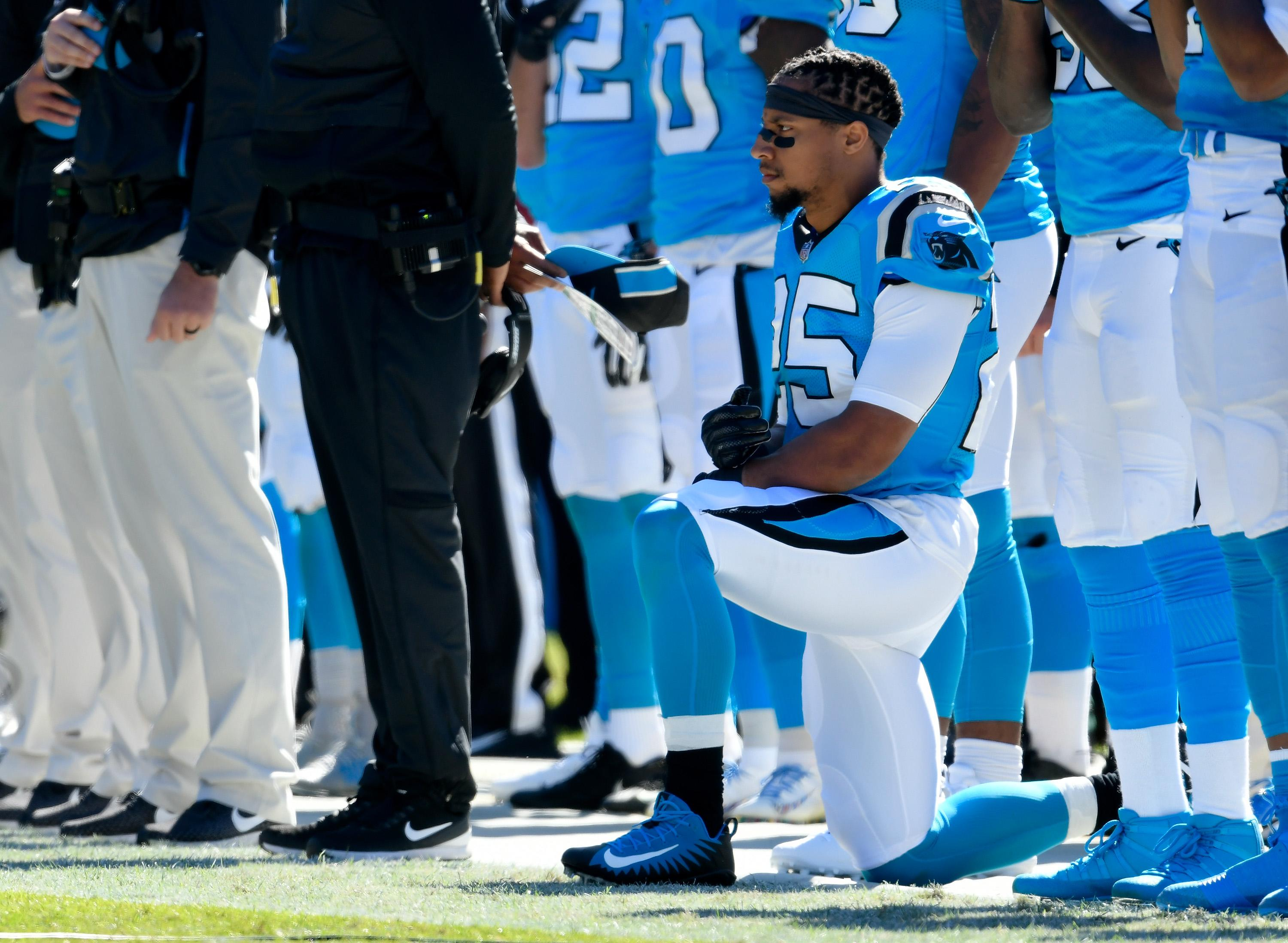 Eric Reid: New Panthers deal proves my point that NFL colluded