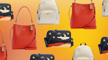 The Coach Outlet just dropped a ton of new styles for summer — and they're up to 70% off