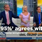 Eric Trump: '95 percent' of Americans agree with my father
