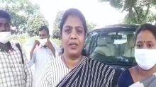 Andhra Pradesh: Police detain former TDP MLA Tangirala Soumya in Vijayawada