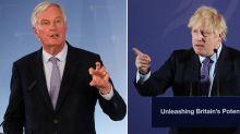 Boris and Barnier spar in first Brexit trade skirmish