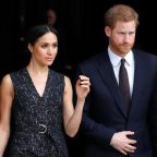 Prince Harry and Meghan Markle attend memorial service for murdered black teenager