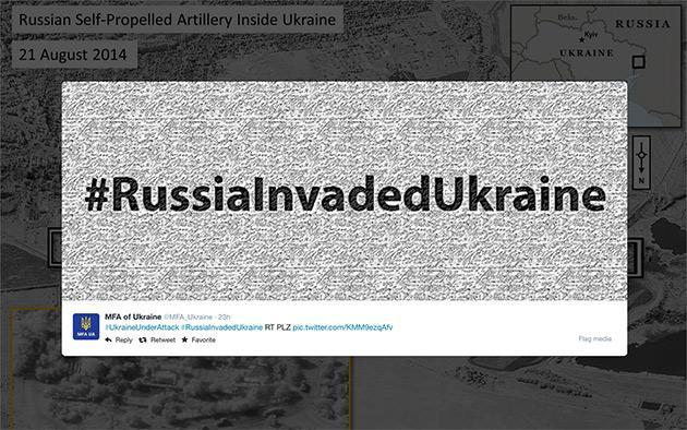 Ukraine rallies the Twitter troops as Russia invades