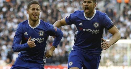 Foot - ANG - Cup - Cup : Eden Hazard envoie Chelsea en finale