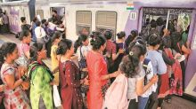 New GRP initiative: Women queue up to board trains at Andheri station