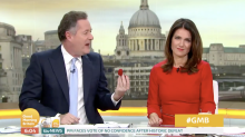 Piers Morgan drops shock marriage proposal to Susanna Reid