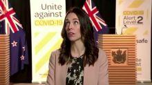 Jacinda Ardern stays cool as earthquake rattles NZ capital