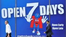 Metro Bank reports first annual profit