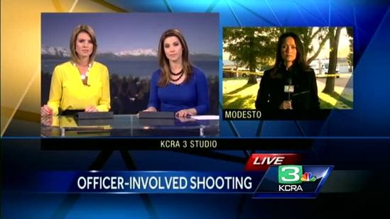 Modesto hostage situation ends in officer-involved shooting
