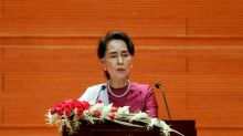 Myanmar's Suu Kyi condemns abuses in Rakhine but silent on army role