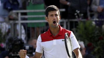 Djokovic eases past Dimitrov at Queen's Club