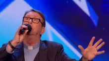 Britain's Got Talent: Singing priest who made Simon Cowell WELL UP used to be in a boy band