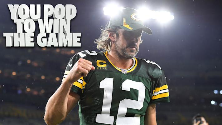 Aaron Rodgers lashes out at his critics   You Pod to Win the Game