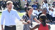 Meghan Markle speaks publicly about being 'woman of colour' in trip to South African township