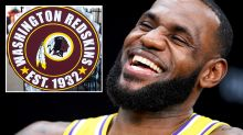 'Is that real': LeBron James mocks NFL team's 'racist' name change