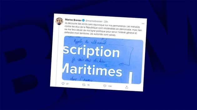 Alpes-Maritimes: la permanence d'une députée vandalisée