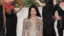 Kendall Jenner flashes the flesh and a brand new bob at NYFW