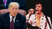Trump honoring Elvis Presley with a Medal of Freedom award sparks online debate on racism