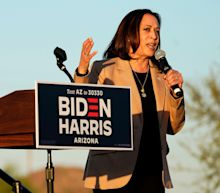 American voters would not approve of a Kamala Harris presidency, poll finds