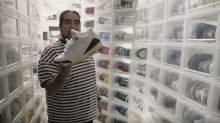 Kenny Gonzales is out to find the perfect pair of sneakers