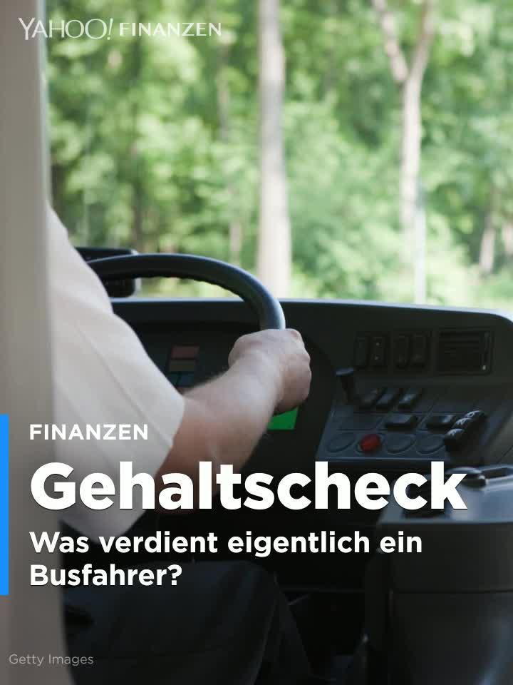Was Verdient Eigentlich Ein Busfahrer Video