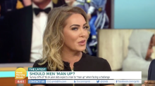 'GMB': Aisleyne Horgan-Wallace criticised after claiming men should 'man up'