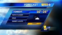 Maryland's Wednesday evening weather forecast