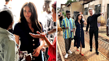 Meghan Markle makes solo visit to creative community in Johannesburg