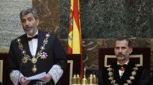 """Casa Real asegura que la llamada de Felipe VI a Lesmes fue de """"cortesía"""" y """"sin consideraciones institucionales sobre el acto"""""""