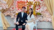 Model-actress Cherry Hsia registers marriage with Chang Chieh