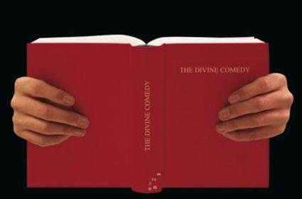 """Reading """"The Divine Comedy"""" ... or playing PSP?"""