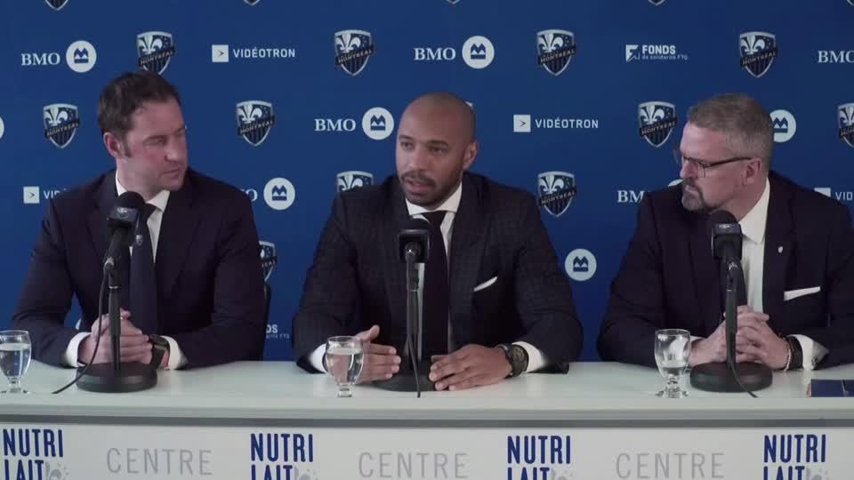 """Thierry Henry to bring an """"in your face"""" style of play as Montreal Impact manager"""