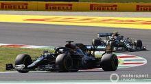 Hamilton vence GP da Toscana marcado por batidas e interrupções