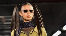 Alexander Wang Brought Back Bleached Brows For Collection 2