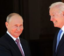 Images of Biden's meeting with Putin show a cool but cordial dynamic as the president seeks a reset after Trump