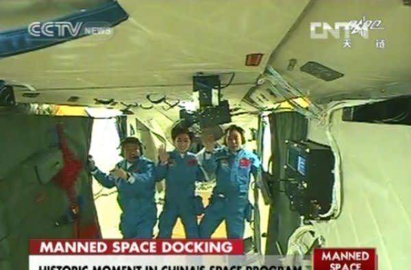 China conducts its first crewed spaceship docking, gives east Asia its place in space (updated)