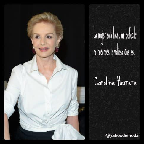 Carolina Herrera El Glam En Frases