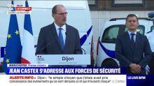 """Dijon : Jean Castex annonce aux forces de l'ordre une """"vingtaine d'effectifs supplémentaires"""""""
