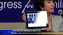 Pelosi marks 50th anniversary of Equal Pay Act