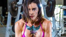 美國海軍陸戰隊女神 身材肌肉比例令男士都妒嫉