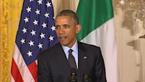 Obama Jokes About Sampling Italian Wine
