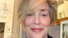 Sharon Stone: espectacular sin maquillaje ni filtros