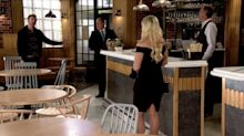 Coronation Street's Daniel Osbourne causes a huge row in the Bistro over Nicky Wheatley
