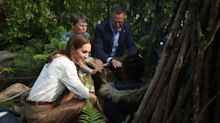Duchess of Cambridge wears dress previously worn by 86-year-old Duchess of Kent to Chelsea Flower Show opening