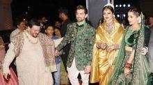 Celebs galore at Neil Nitin Mukesh-Rukmini's lavish wedding reception