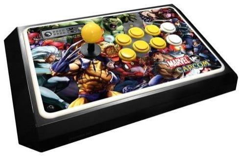 Mad Catz MvC2 FightStick unveiled, tags in this fall