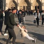 The Search Is Over! Father-Daughter Duo Dancing in Viral Notre Dame Cathedral Photo Identified