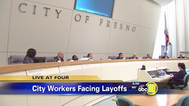 Fresno City Council approves budget with layoffs